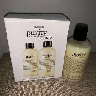 Purity cleanse and go