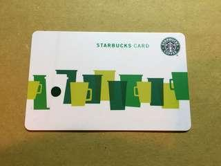 Hong Kong Starbucks Card 星巴克卡 (香港版)