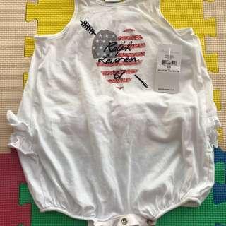 Ralph Lauren bodysuit - 6 months