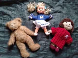 3 stuffs toy