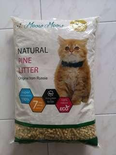 Meow meow Natural Pine Litter