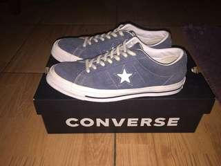 CONVERSE ONE STAT WHITE BLUE 42