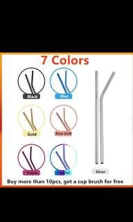 [Pre-order] Stainless steel drinking straw