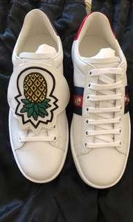 Gucci Pineapple patch Ace sneakers