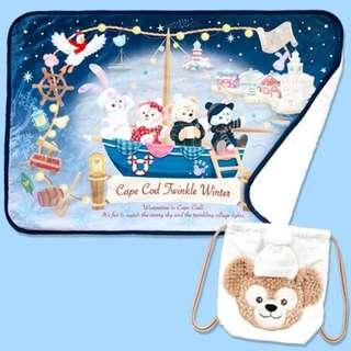Tokyo Disneysea Disneyland Disney Resorts Sea Land Cape Cod Twinkle Winter 2018 Duffy & Friends Blanket Preorder