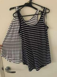 Two Rosebullet singlets for $8!
