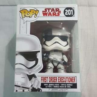 Legit Brand New With Box Funko Pop Star Wars First Order Executioner Toy Figure