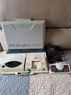 二手 PC Engine 遊戲機