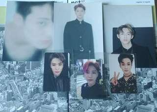 [lf/wtt only] nct regular - irregular pcs, postcards and posters