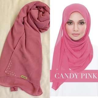 Authentic Naelofar Hijab Semi Instant Single Loop