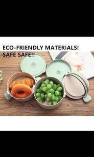 [Pre-Order] Round Multi-layered lunchbox