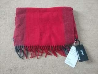 HUGO BOSS winter scarf - Authentic
