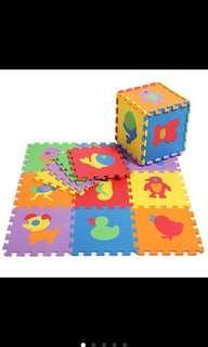 Baby crawling EVA puzzle Mat 29X29cm- Animal #OCT10