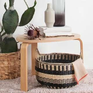🚚 PO Rattan Laundry Storage Basket