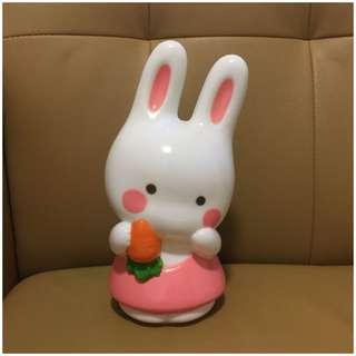 Sanrio Cheery Chum 1988 年 9 吋高 人形膠燈 (Made in Japan) (** 只限北角地鐵站交收 **)