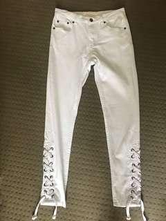 New white pants