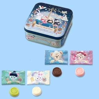 Tokyo Disneysea Disneyland Disney Resorts Sea Land Cape Cod Twinkle Winter 2018 Duffy & Friends Chocolate Preorder