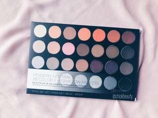 BH Cosmetics Modern Neutrals 28 Colors Matte Eyeshadow Palette