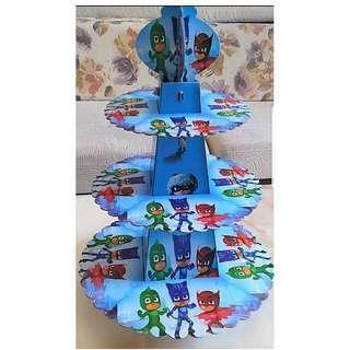 PJ Masks 3 Tier Cupcake Stand