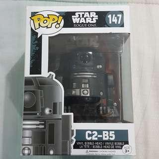 Legit Brand New With Box Funko Pop Star Wars Rogue One C2-B5 Toy Figure