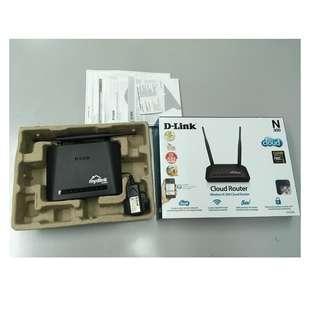 100% 正常運作 D-Link DIR-605L ROUTER 無線 路由器