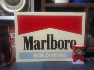 Sign marlboro
