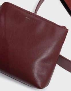 Charles & Keith Leather Pouch / Clutch