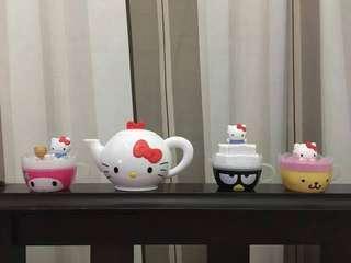 Hello Kitty Tea Cup Set