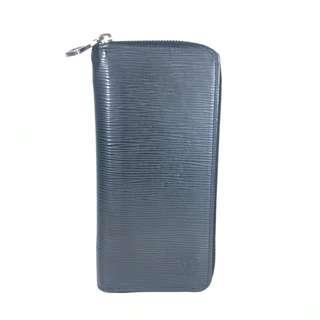Louis Vuitton Black Epi Leather Zippy Vertical Men's Wallet