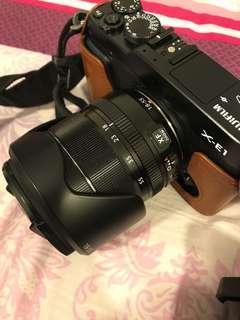 Fujifilm X-E1 + 18-55 OIS+ 35 F1.4 lens
