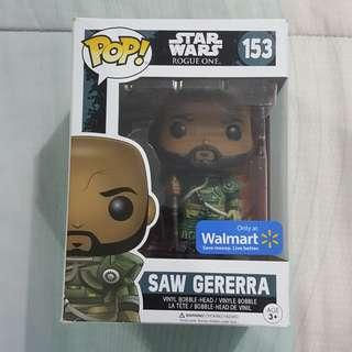 Legit Brand New With Box Funko Pop Star Wars Rogue One Saw Gererra Toy Figure Walmart Exclusive