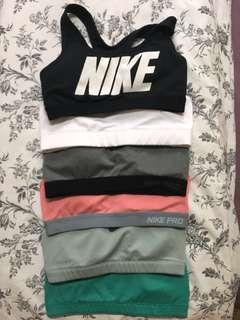 Nike sports bra (GREEN ONLY)
