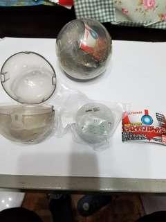 鹹蛋超人 能量信號燈扭蛋 吉田1號, 2號兩隻扭蛋