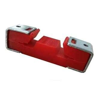 牆身龍骨 阻尼隔音 減震器 牆身 阻尼隔音 減震器 外部是以優質的環保丁晴橡膠加以輔助材料固定牆  面達到隔音抗震效果,牆體輕鋼龍骨外部的環保丁晴橡膠  對低頻和高頻的震動均有相當好的抑製作用,環保阻尼丁  晴橡膠還具有隔震隔音效果,特別適合應用於牆體振動造  成的低頻固體傳聲