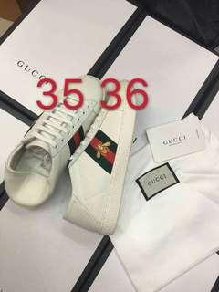 Size 35 36 SALE GUCCI Sneakers Gucci Shoes GG Shoes