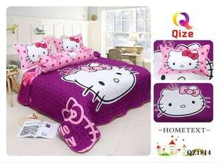 🔥OFFER🔥Cadar Hello Kitty with comforter