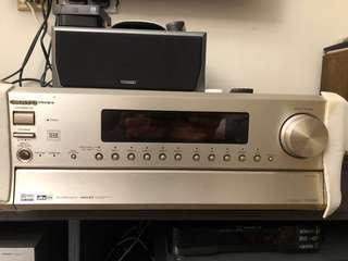 Onkyo Integra Thx 6.1 TX-DS898 cinema surround