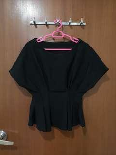 🚚 TVD Kimono Peplum Blouse