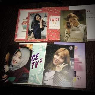 TWICE TV 2 , 3 , 4 , 5 DVD