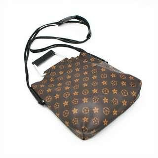Korean 2in1 Monogram Sling Bag