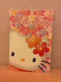 中古 Sanrio Hello Kitty notebook 單行簿 (1998')