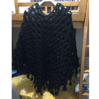 自家製作。人手鈎織。。大斗篷。#1