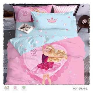 Bedsheets with comforter Super single