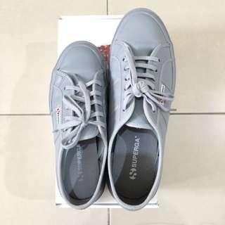 Superga 2750 EFGLU Full Grey Womens Sneakers
