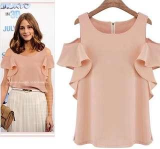 Coldshoulder blouse