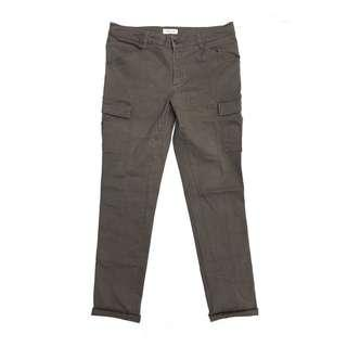 Style Basic Cargo Pants in Green Olive Army