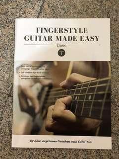 Guitar book for beginner
