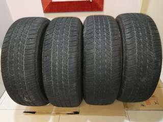 Bridgestone Dueler HT 265/60/R18 x 4pcs (DOT 2317)