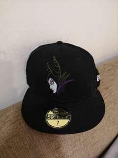 🚚 Authentic New Era 59Fifty Maleficent Cap size 7