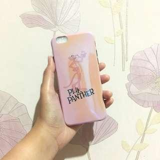 New pink panther iphone case for 6 6s bluray